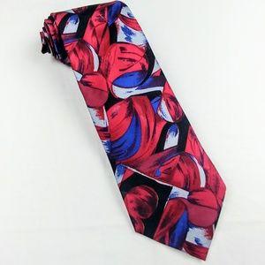 VINTAGE PARIS Haute Couture 100% Italian Silk Tie